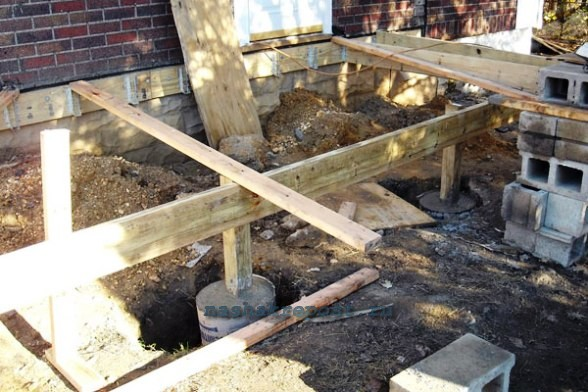Строительство дома на даче своими руками