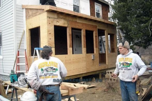 Строим каркасный дом своими руками фото