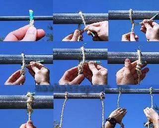 веревочная лестница своими руками