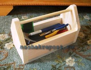 Простой ящик для инструментов