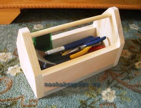 Ящик для инструментов своими руками фото