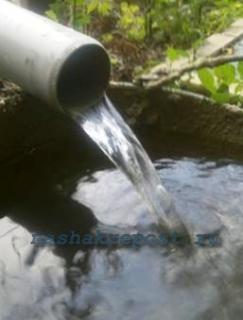 Очищенная вода из скважины