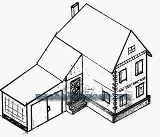 Как сделать макет дома из бумаги своими руками?