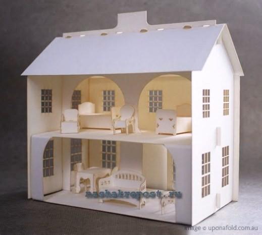 Макеты домов сделать своими руками 83