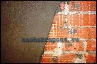 Армирующая сетка для штукатурки цементным раствором