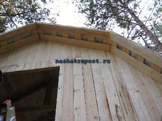 обшивка мансардной крыши
