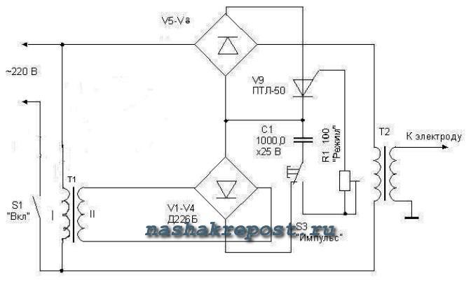 намотка трансформатора для электросварки