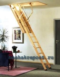 простая чердачная лестница