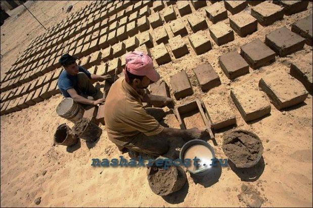 Глиняные кирпичи своими руками