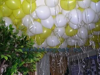 Праздничное оформление шарами | приемы декорирования помещений
