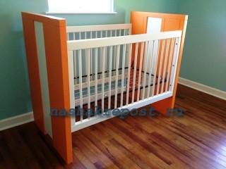 Кроватка для куклы своими руками чертежи