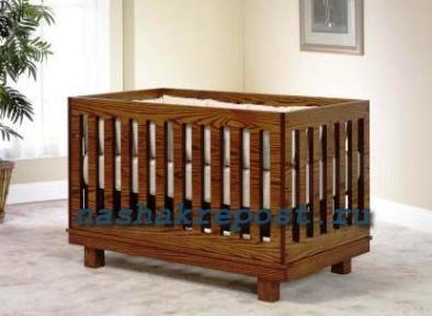 Кроватка для новорожденных своими руками фото