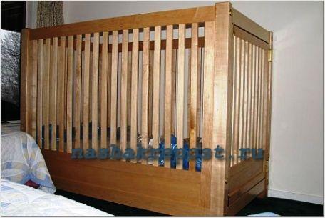 Детская игрушечная кроватка сделать своими руками фото 78