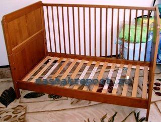 Самостоятельная сборка детской кроватки—  процесс изготовления