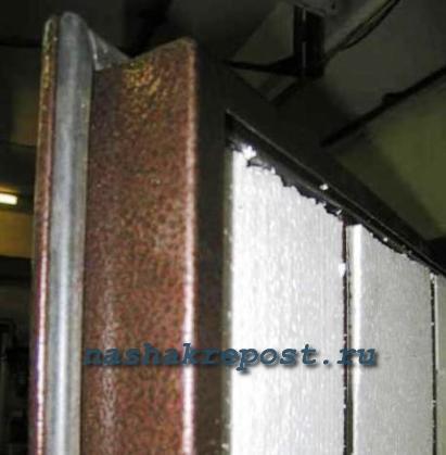 утеплённых металлических дверей наружных купить