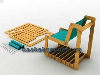 кресло из фанеры своими руками