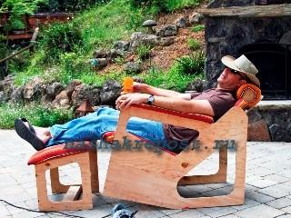 кресло качалка из фанеры своими руками