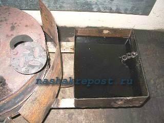 резервуар для топлива печьки