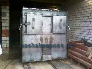 промышленный пиролизный котел