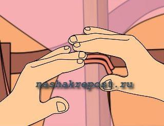 крепление ткани
