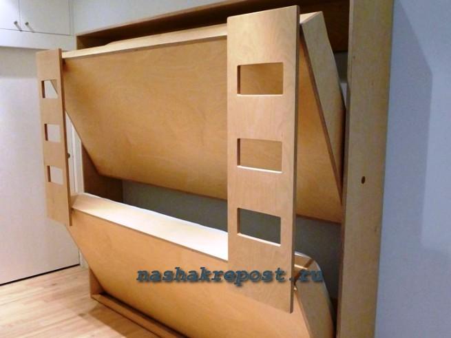 Шкафы трансформеры с кроватью своими руками