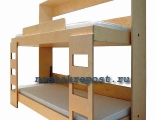 двухярусная кровать трансформер