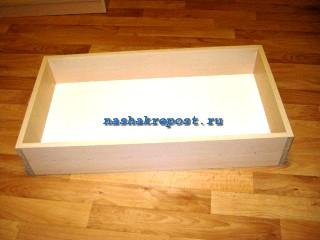 корпус ящика комода в сборе