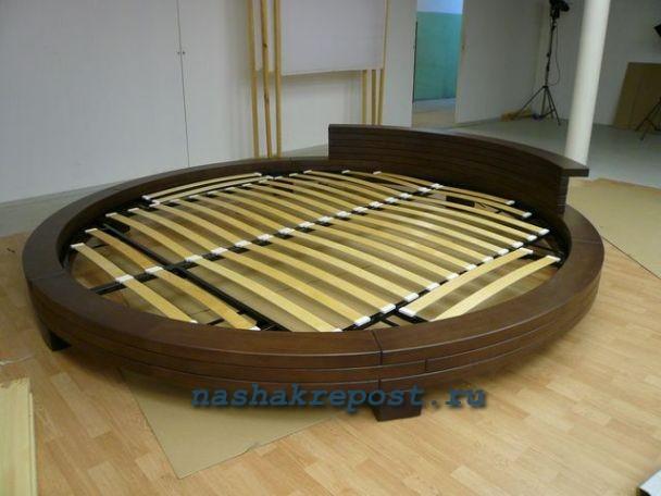 Круглая кровать своими руками: делаем мебель за 2 часа 27