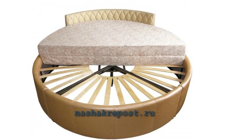 Круглая кровать своими руками: делаем мебель за 2 часа 61