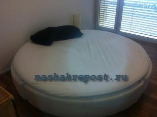 круглая кровать своими руками