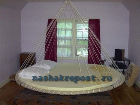 Круглая кровать своими руками видео фото 604