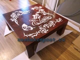 Изготовление мебели из гипсокартона: столик своими руками