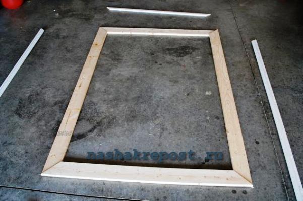 Своими руками сделать деревянную раму для зеркала