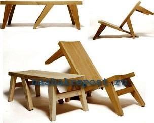 складывающаяся скамейка