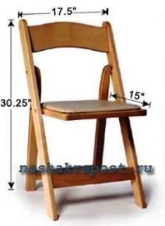 промышленный образец деревянного стульчика