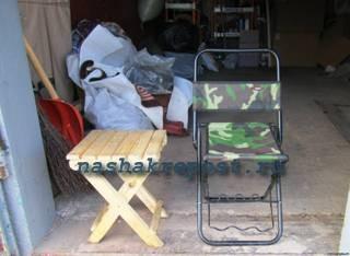 варианты стульчиков для рыбалки