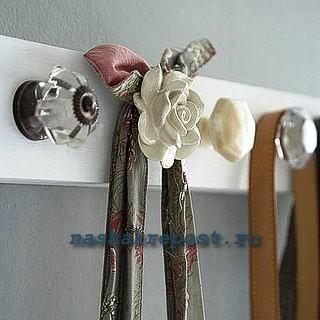 самодельная вешалка для одежды