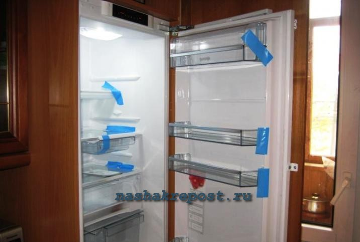 встроенный холодильник купить в москве недорого