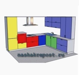 втраиваемый холодильник - схема
