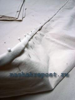 пошив  чехла для матраса
