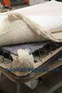 Самодельный матрас— пошив, использование натуральных материалов