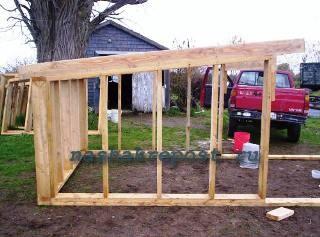 Как построить сарай своими руками для свиней