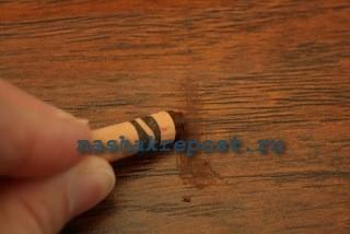 удаление царапины карандашом