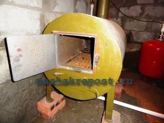 печь для отопления частного дома на дровах