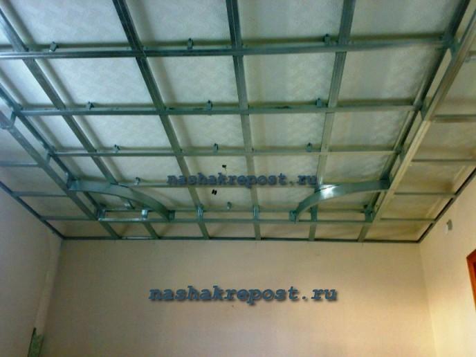 Многоуровневый потолок гипсокартона своими руками