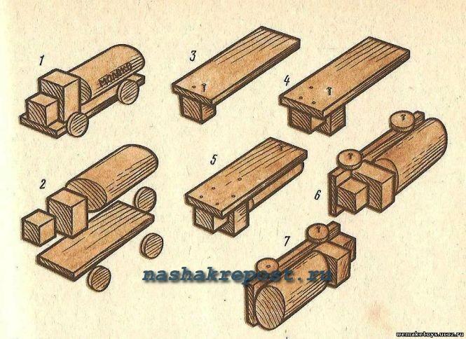 деревянной игрушки