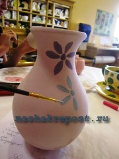 роспись глинянных горшков