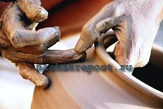 глинянный горошок - изготовление