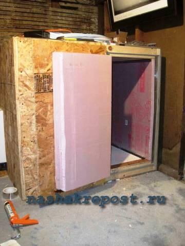 Теплоизоляция холодильной камеры своими руками 53