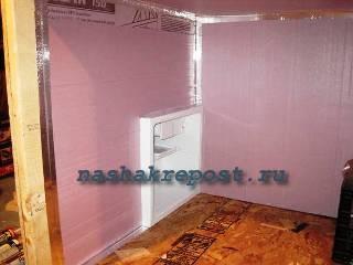 установка морозильной камеры